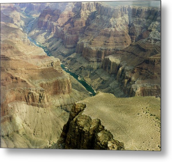 Scenic Grand Canyhon And Colorado River Metal Print