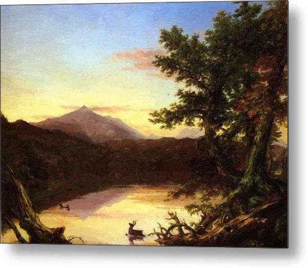Schroon Lake 1840 Metal Print