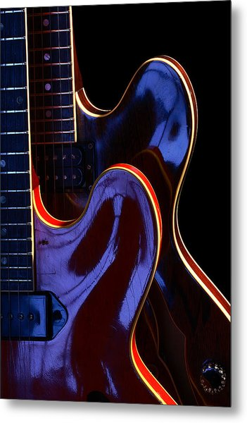 Screaming Guitars Metal Print by Art Ferrier