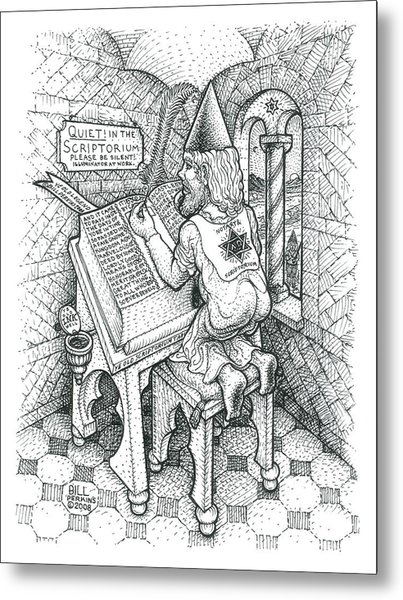Scribe Metal Print by Bill Perkins