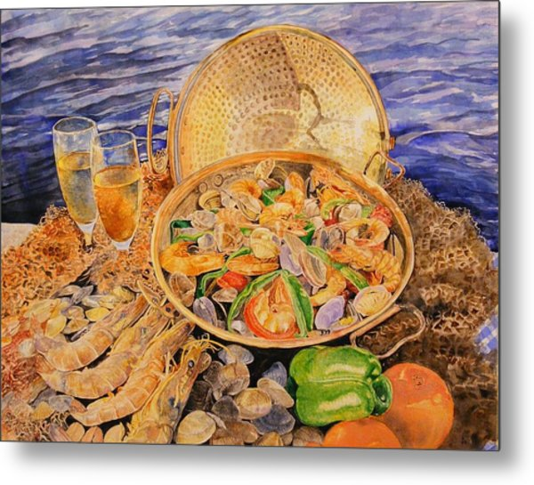 Sea-food Metal Print by Ciocan Tudor-cosmin