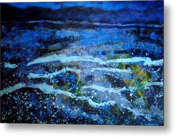 Seascape Metal Print by John  Nolan