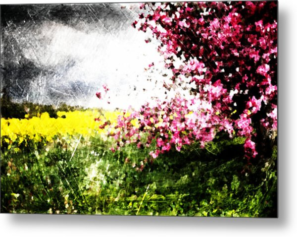 Secret Garden Metal Print by Andrea Barbieri