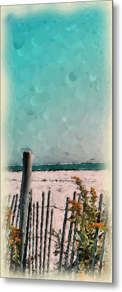 September Beach Metal Print