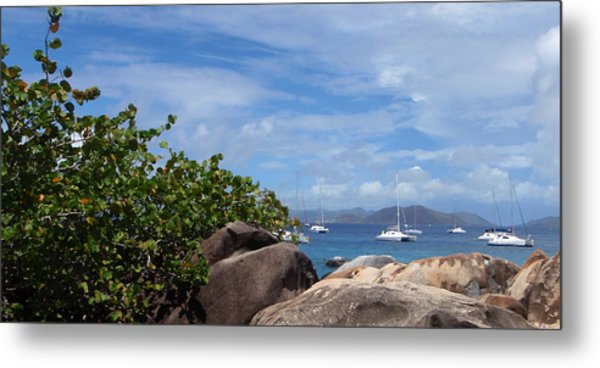 Serenity Abounds Metal Print by Ginger Howland