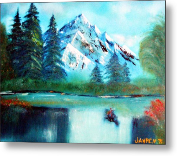 Serenity Metal Print by Janpen Sherwood