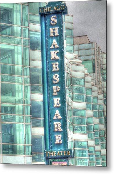 Shakespeare Theater Metal Print by Barry R Jones Jr