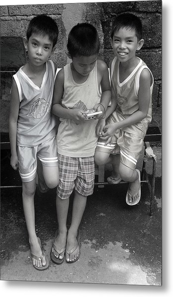 Shared Game Metal Print by Jez C Self