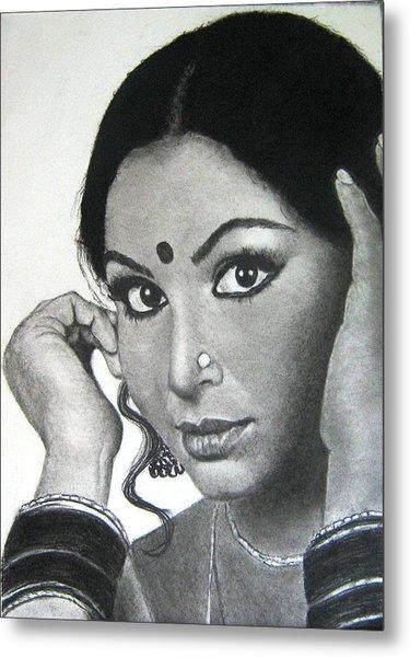 Sharmila Tagore Metal Print