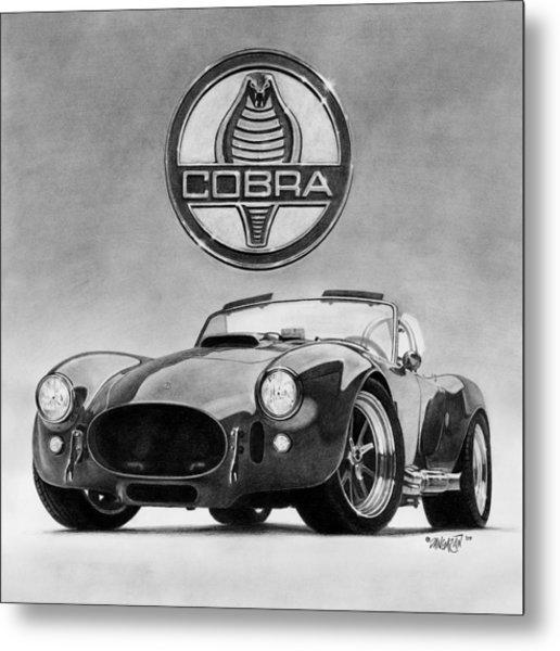 Shelby Cobra Metal Print