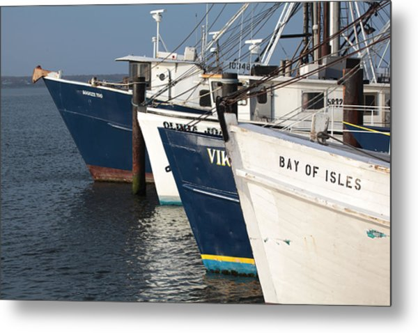 Shinnecock Fleet Metal Print