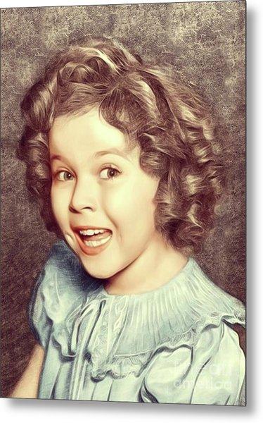 Shirley Temple, Actress Metal Print