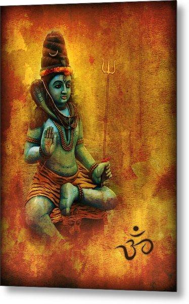 Shiva Hindu God Metal Print