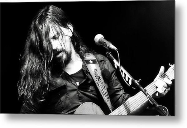 Shooter Jennings - Rebel Metal Print
