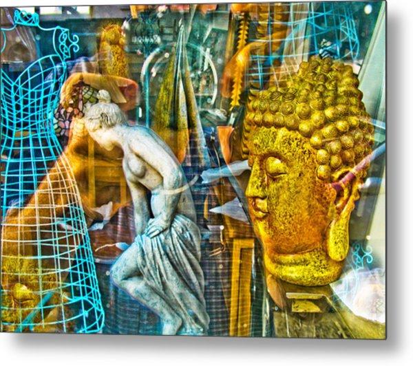 Shop Window 1 Metal Print by Dan McCarthy