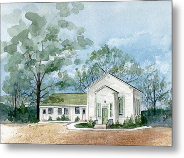 Sicklerville 1859 Church  Metal Print