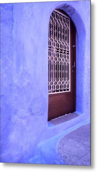 Simply Blue Metal Print by Steve Outram
