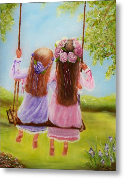 Sisters And Friends Forever Metal Print