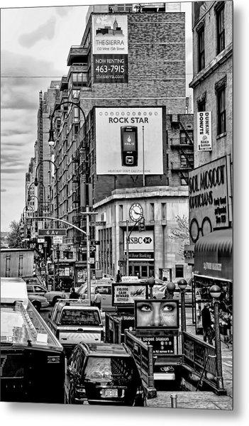 Sixth Avenue Fourteenth Street Sub Station Metal Print