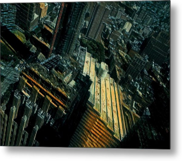 Skewed View Metal Print