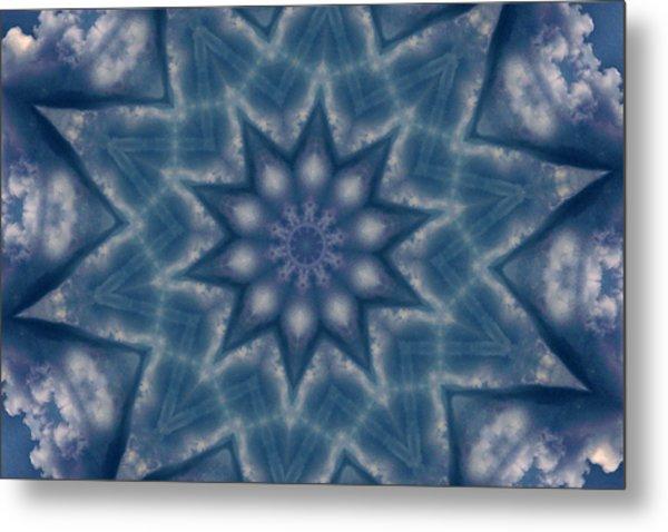 Sky Mandalas 6 Metal Print