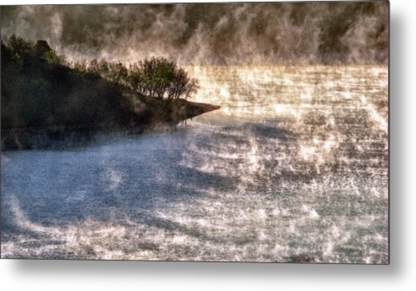Sleepy Morning On The Lake Metal Print