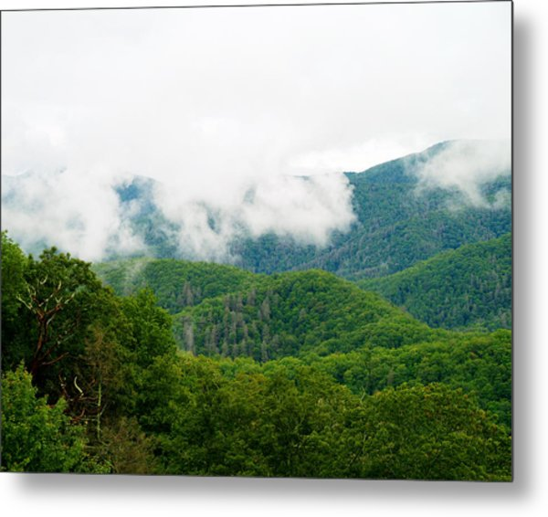 Smokey Mountain Afternoon Metal Print