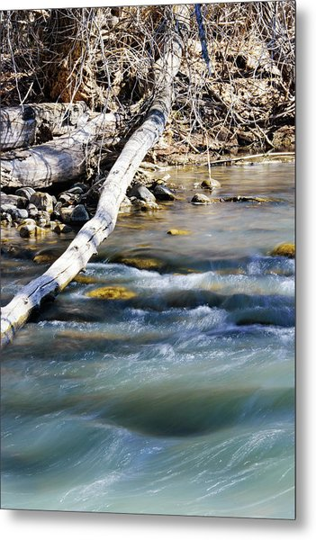 Smooth Water Metal Print