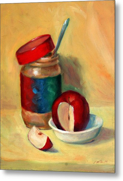 Snack Time Metal Print by Athena Mantle