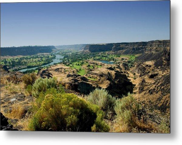 Snake River Canyon Metal Print by Brendon Bradley