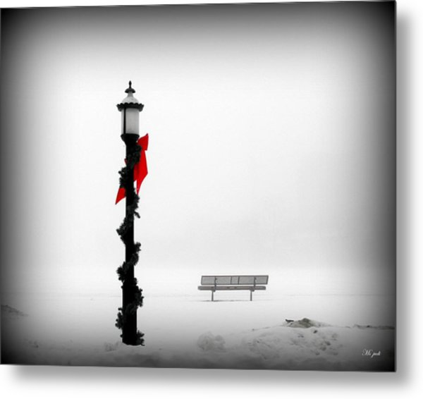 Snow Blind Metal Print