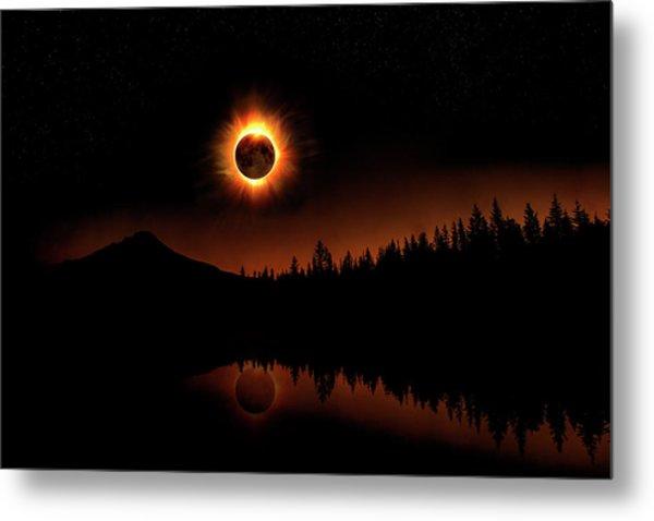 Solar Eclipse 2017 Metal Print