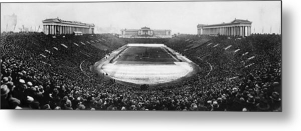 Soldier Field, Chicago, Illinois, Circa Metal Print