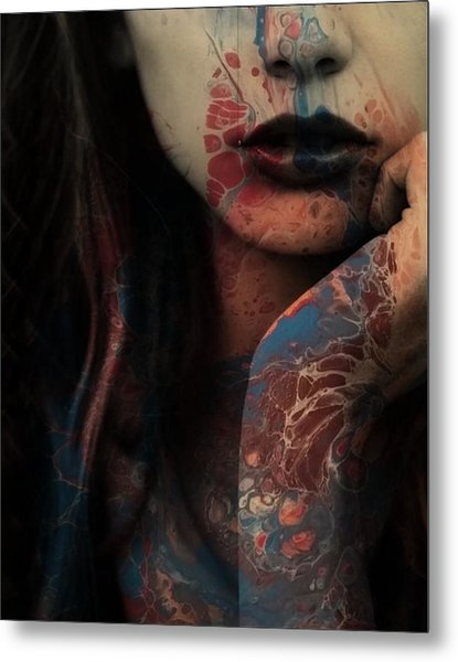 Sorry Seems To Be The Hardest Word  Metal Print