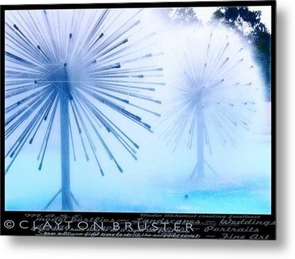 Southern California Fountains Metal Print