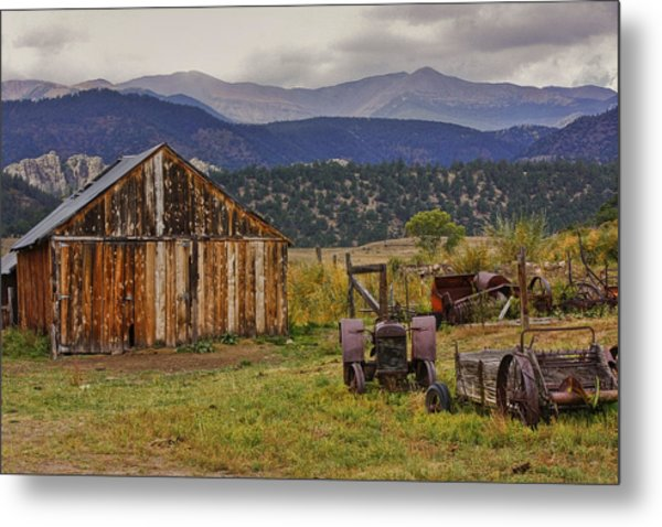Spanish Peaks Ranch 2 Metal Print