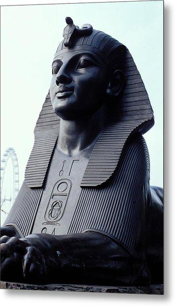 Sphinx In London Metal Print by Carl Purcell