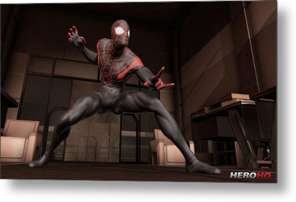 Spider-man Edge Of Time Metal Print
