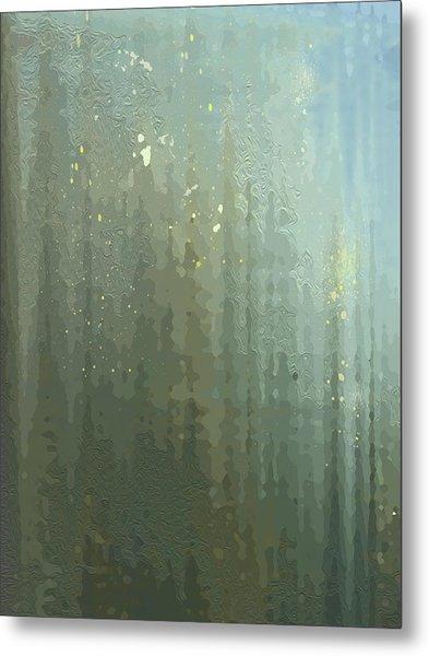 Spires Through A Window Metal Print