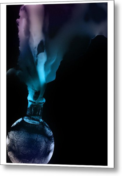 Spirit Bottle Metal Print