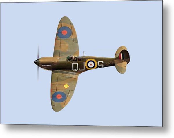 Spitfire Mk 1 R6596 Qj-s Metal Print