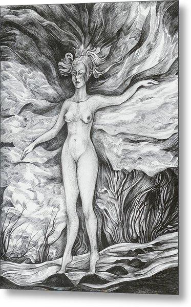 Spring II Metal Print by Anna  Duyunova