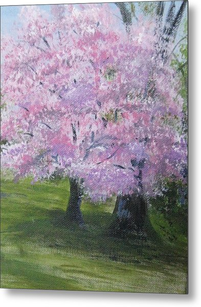Spring In Bloom Metal Print by Trilby Cole