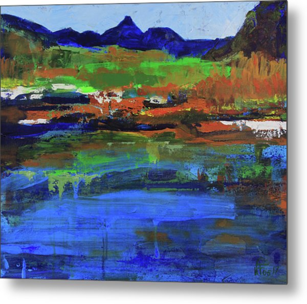 Spring In High Country Metal Print