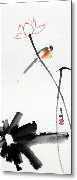 Spring Pond Metal Print by Ming Yeung