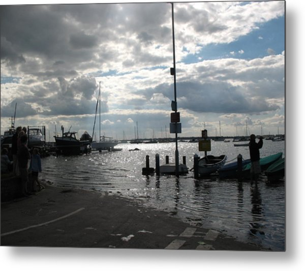 Spring Tide Metal Print by Angelina Whittaker Cook