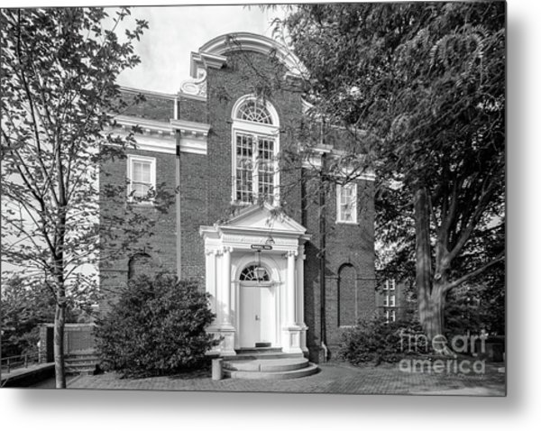 St. John's College Annapolis Randall Hall Metal Print by University Icons