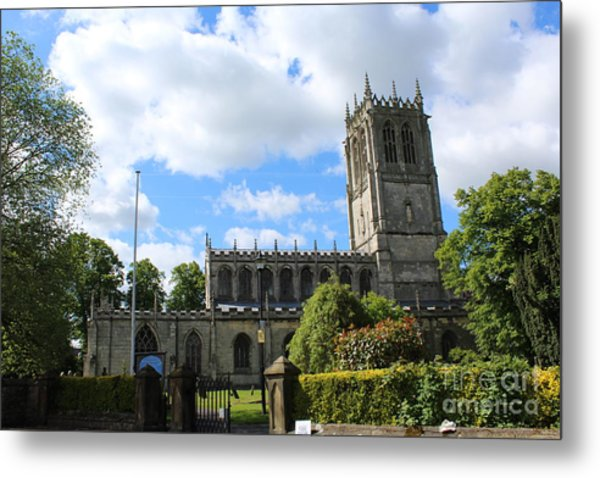 St. Mary's,tickhill Metal Print
