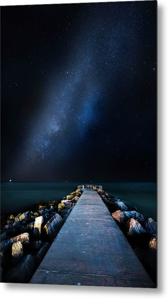 St. Pete Night Metal Print