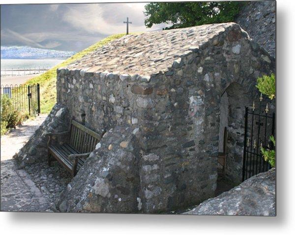 St. Trillo's Chapel - North Wales - Uk ....... Metal Print